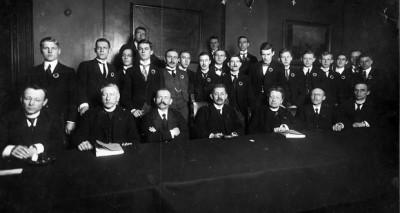 bestuur tweede csc 1919